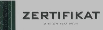Erfolgreiches Überwachungsaudit DIN EN ISO 9001-2008
