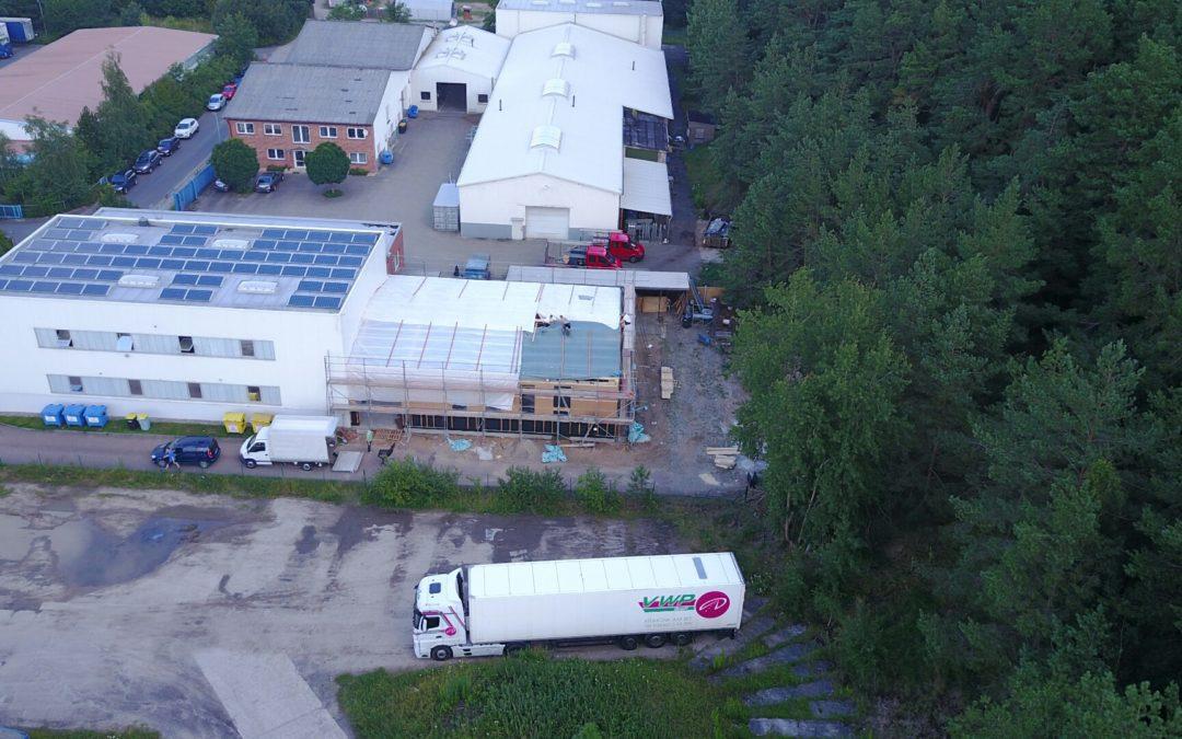 Erweiterung der Produktionskapazitäten am Standort Krakow am See