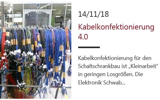 Kabelkonfektionierung 4.0